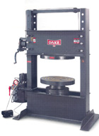 Dake Hydraulic Tire Press